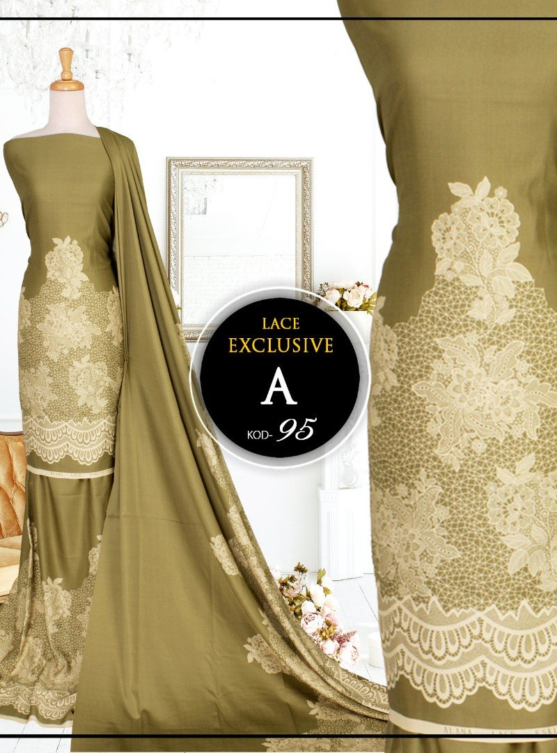 Printed Lace 95-A