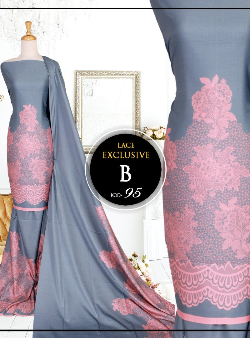 Printed Lace 95-B