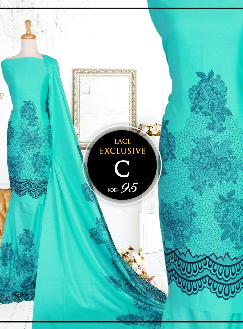 Printed Lace 95-C