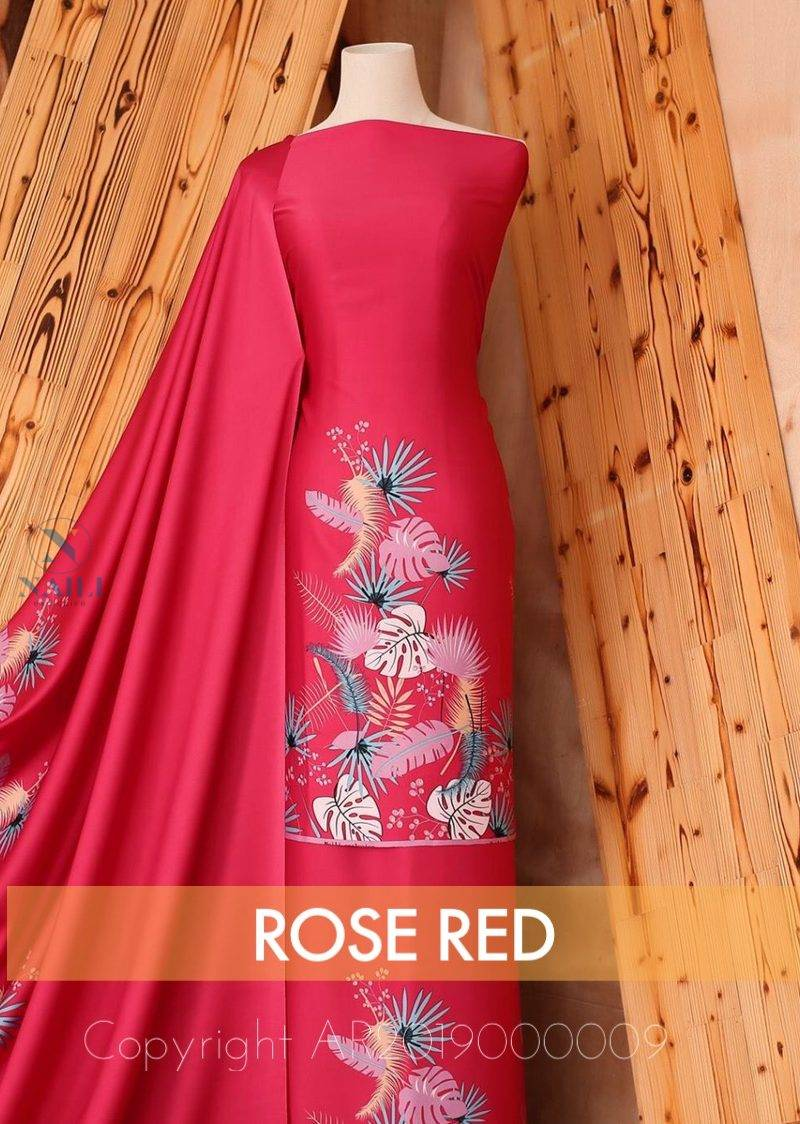 Batik Rose Red