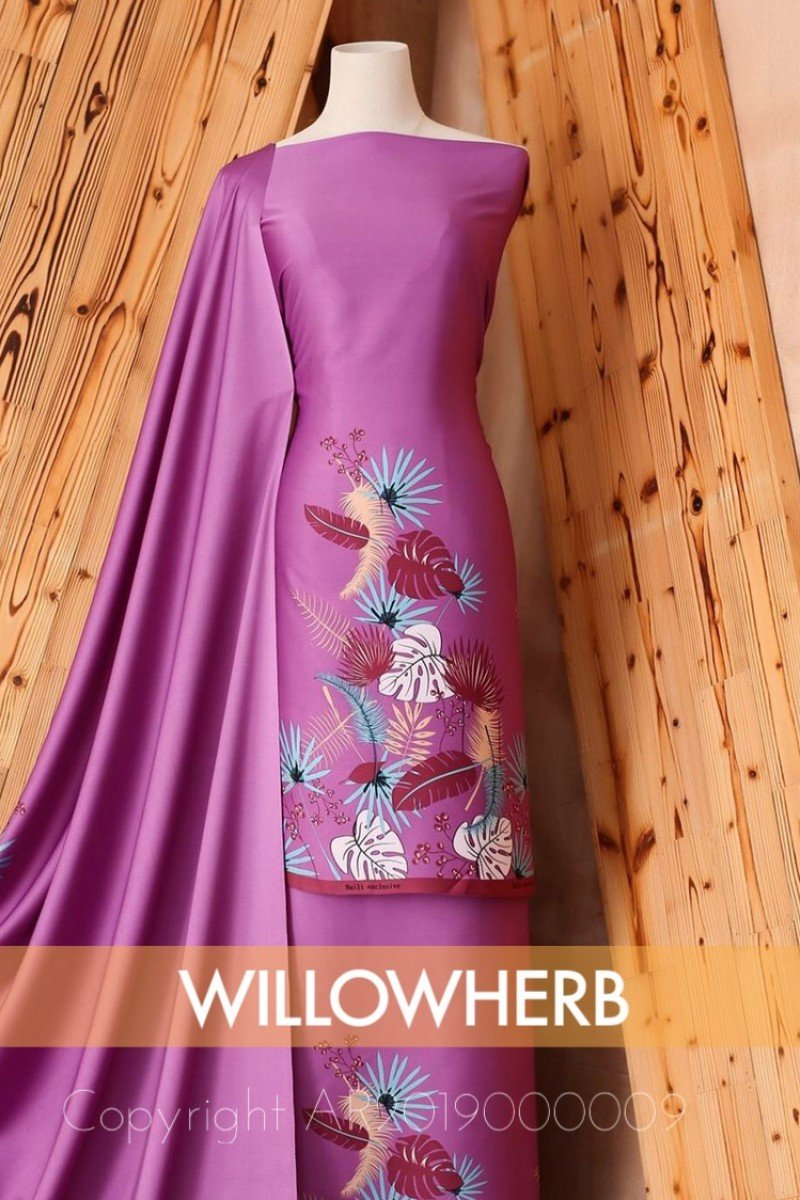 Batik Willow Herb