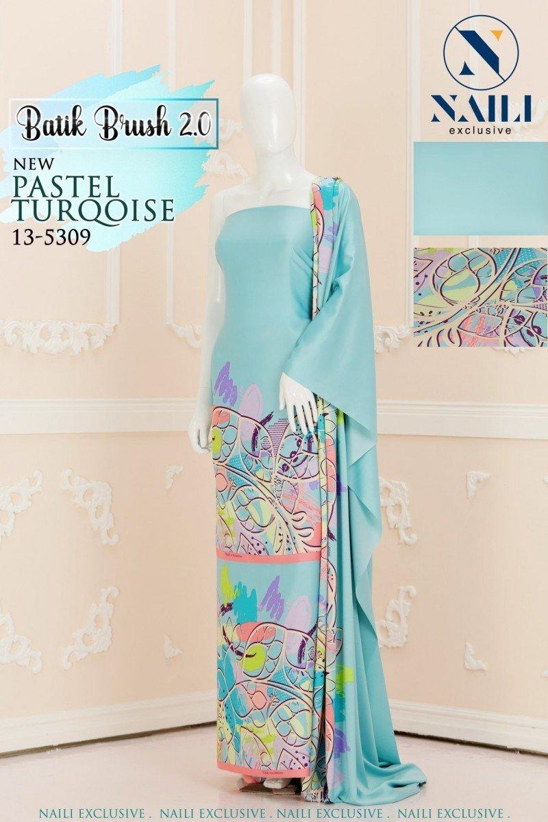 Batik Brush 01 – Terqoise