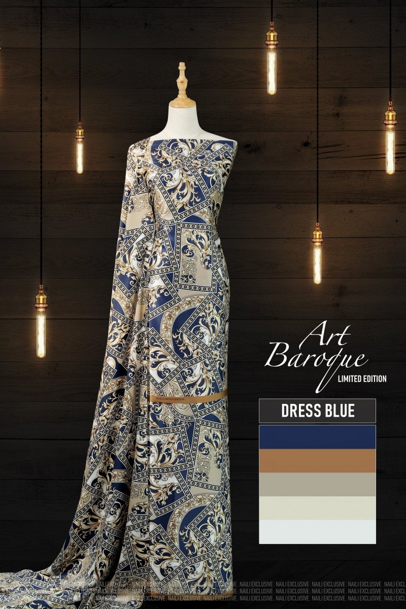 Art Baroque 02 -Dress Blue