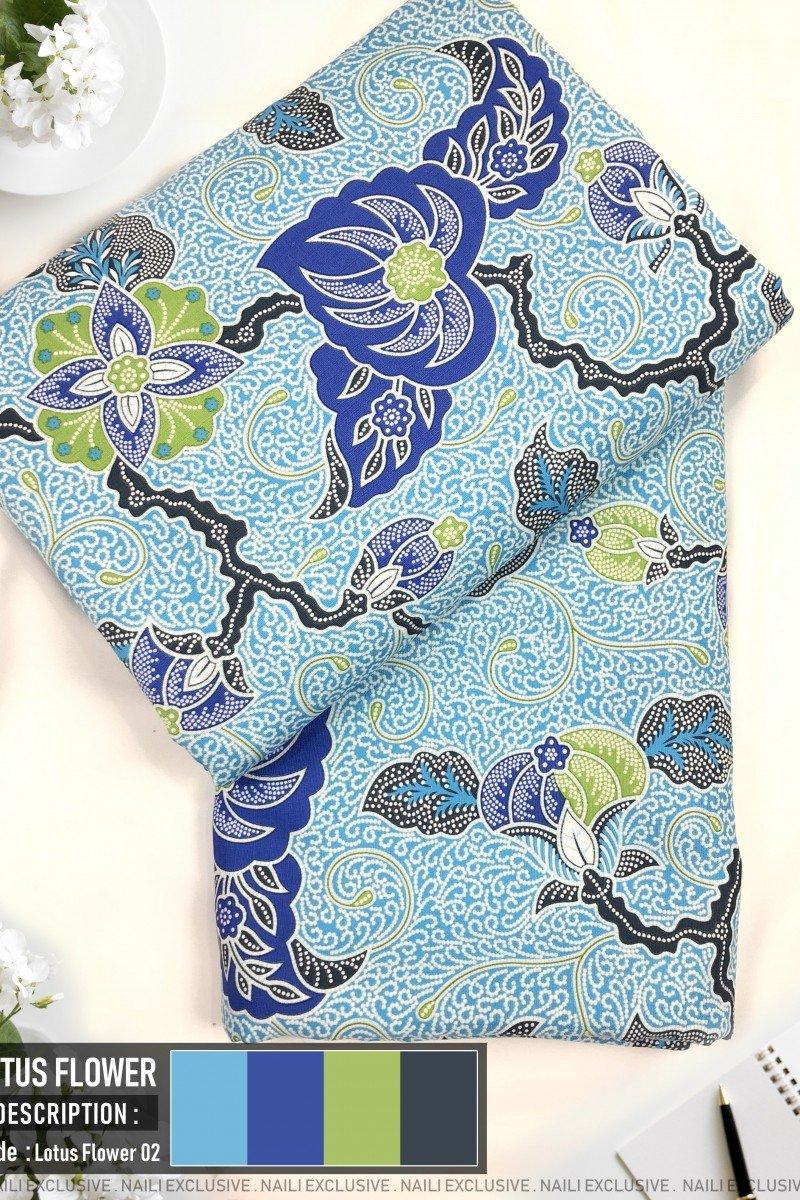 Batik Lotus Flower 02
