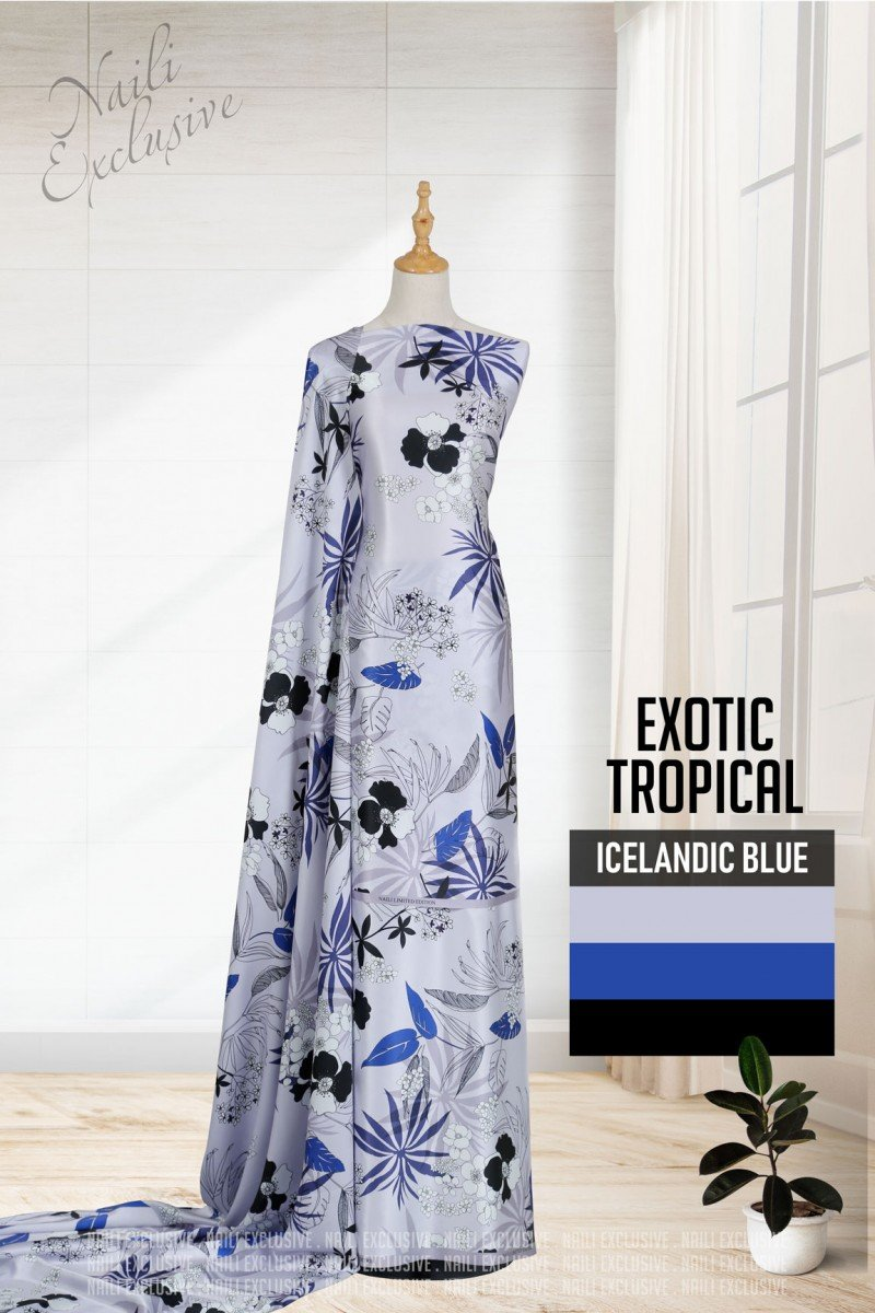 Exotic Tropical 02 – Icelandic Blue
