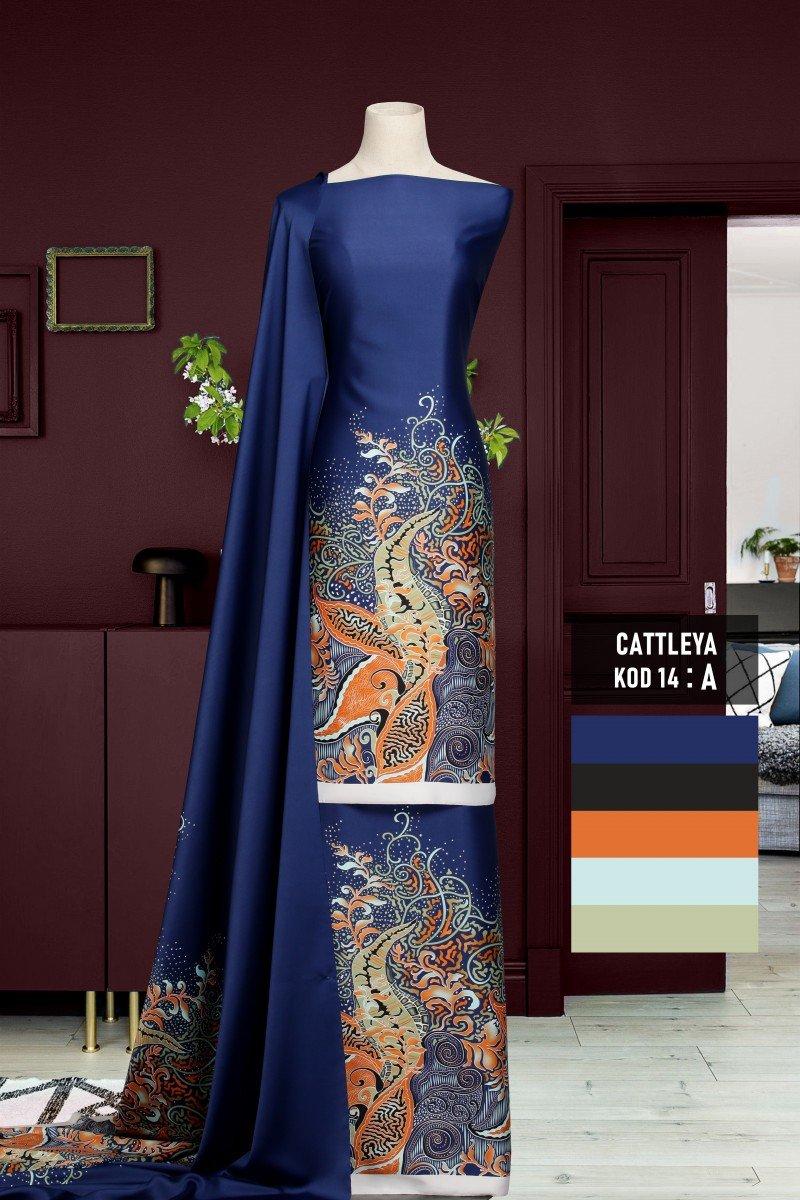 Batik Cattleya 14-A