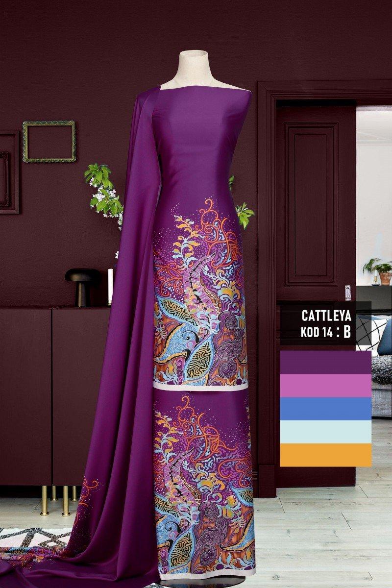 Batik Cattleya 14-B