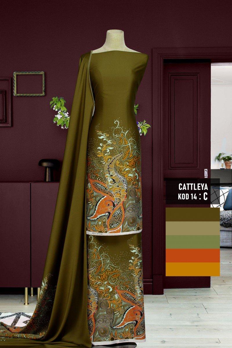 Batik Cattleya 14-C