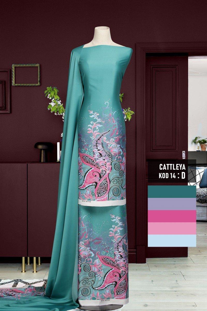 Batik Cattleya 14-D