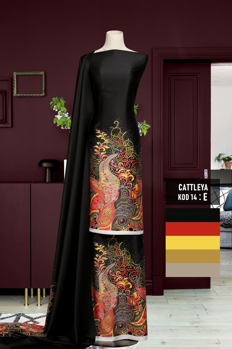Batik Cattleya 14-E