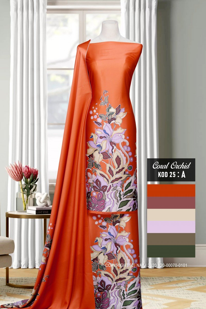 Coral Orchid K25-A