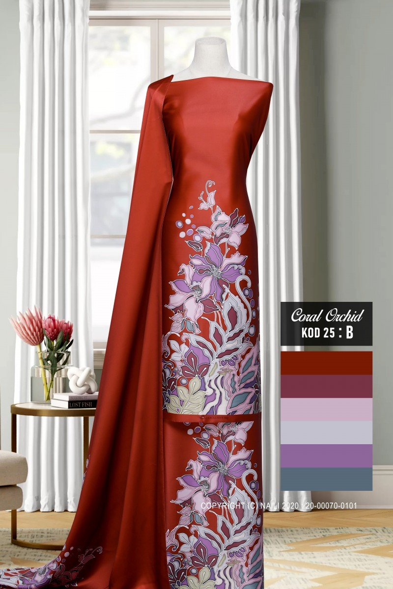 Coral Orchid K25-B