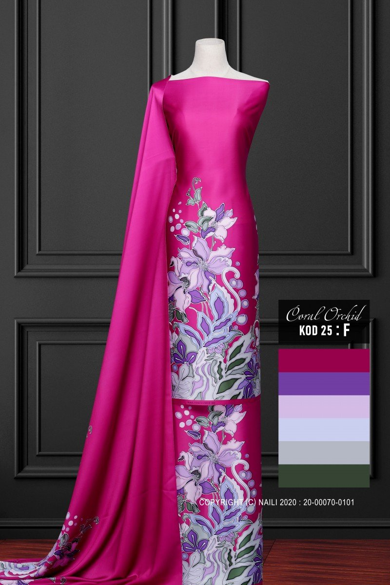Coral Orchid K25-F