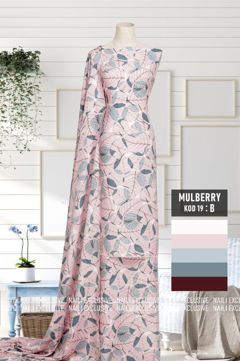 Mulberry Flower 19B
