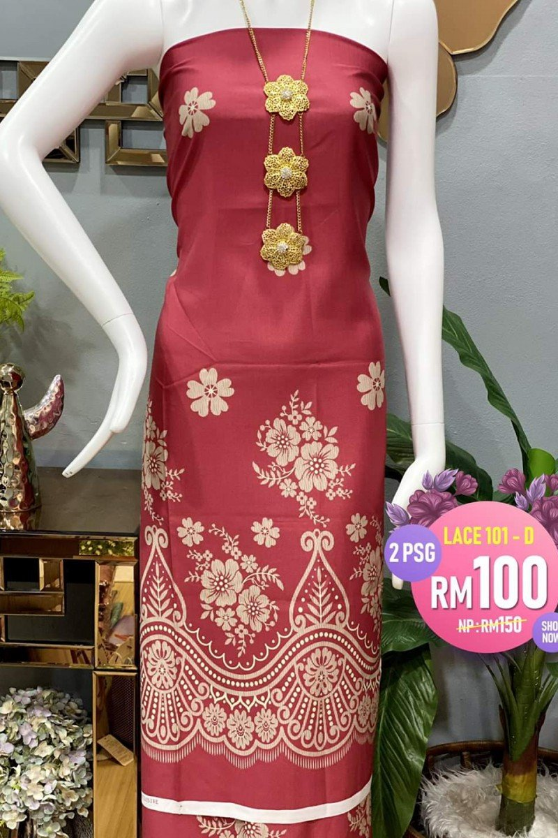 Printed Lace 101-D