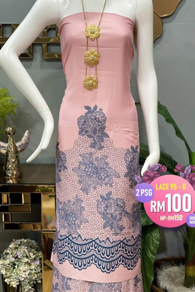 Printed Lace 95-D