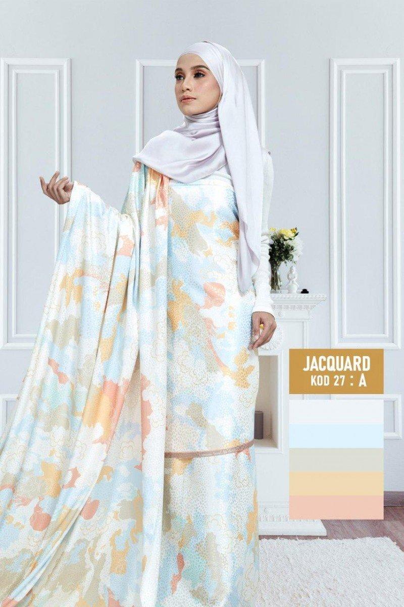 Tiara Jacquard Silk 27-A |60″