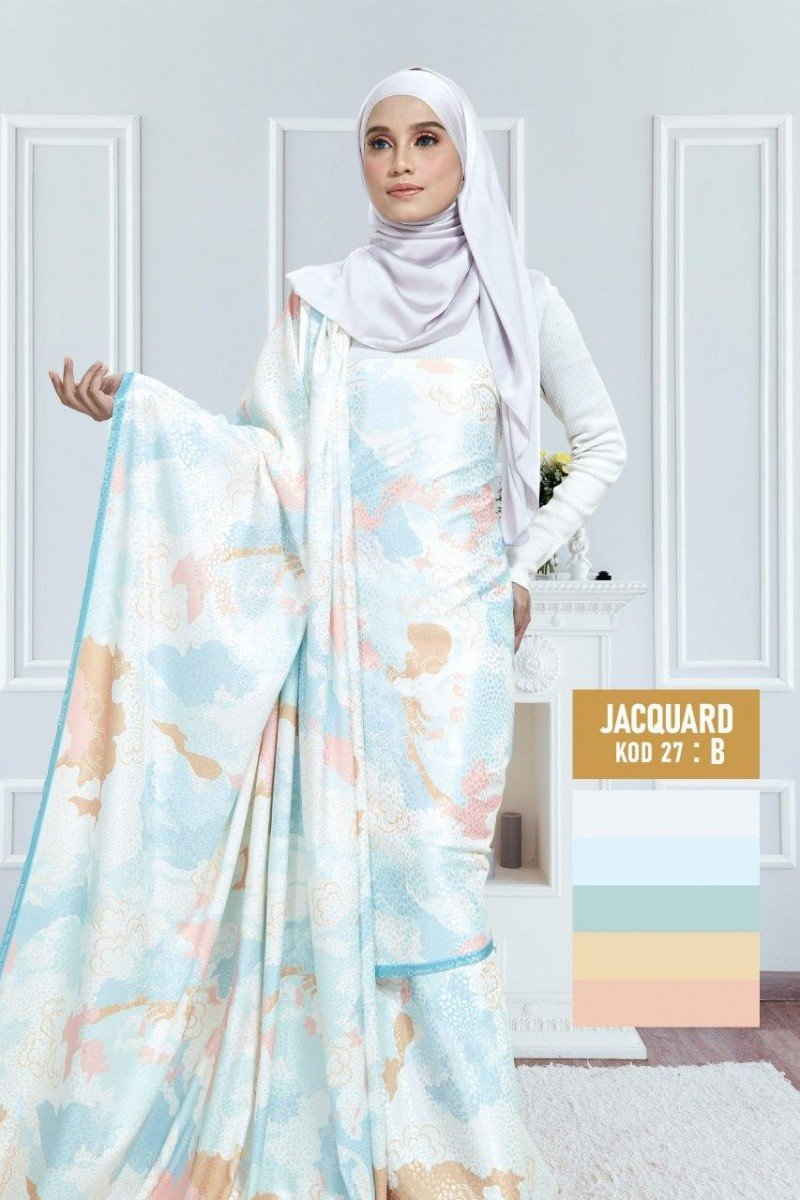 Tiara Jacquard Silk 27-B |60″