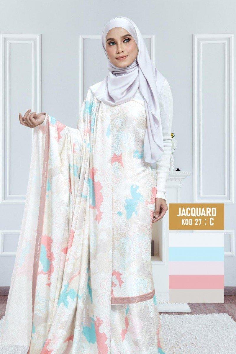 Tiara Jacquard Silk 27-C |60″