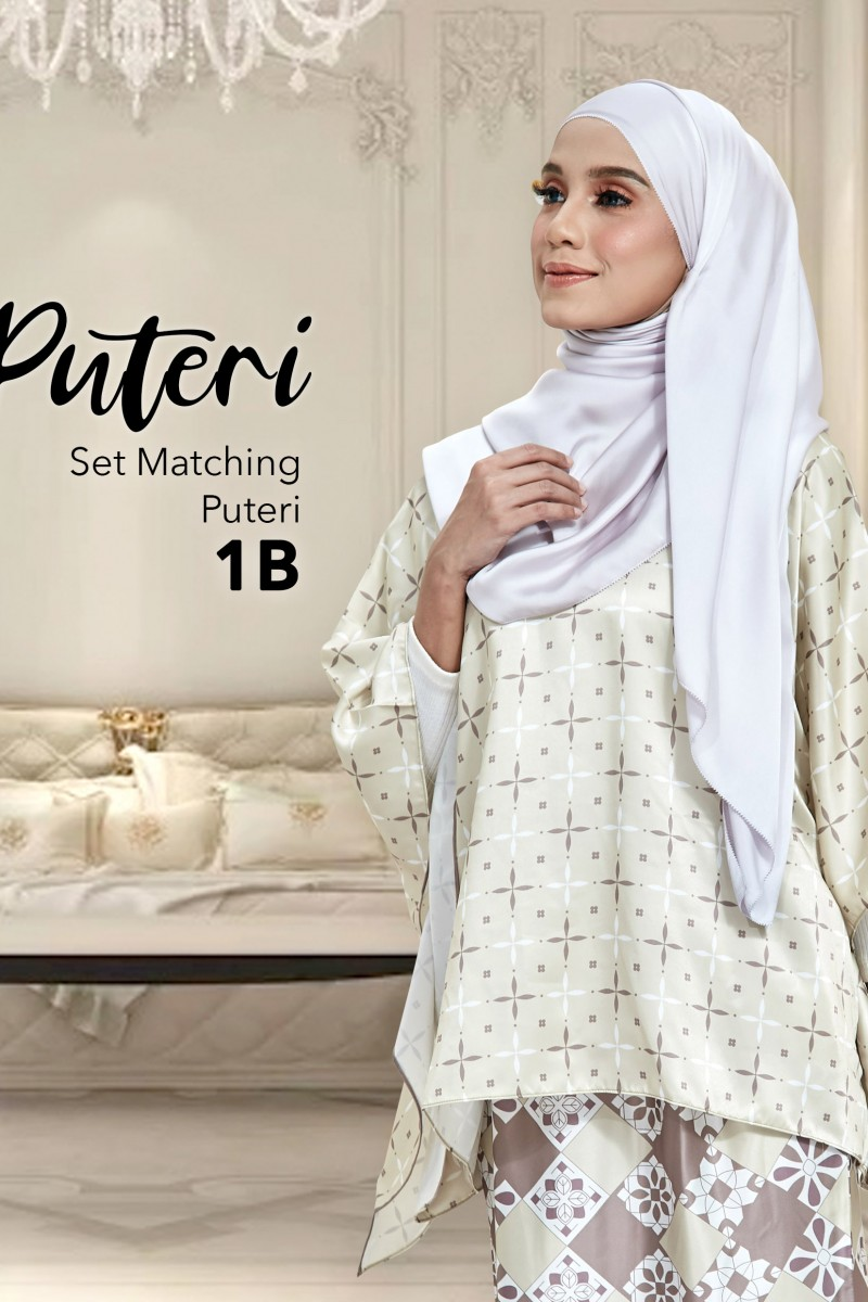 Set Matching Puteri 1B