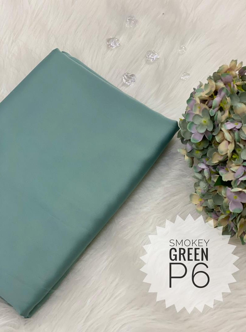 P6 – Smokey Green