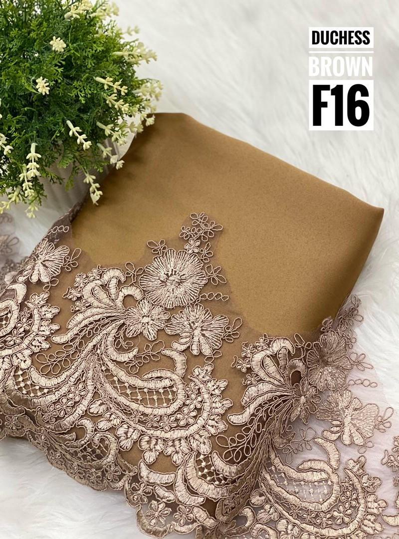 duchess lace [F15, F16, F17 & F18]