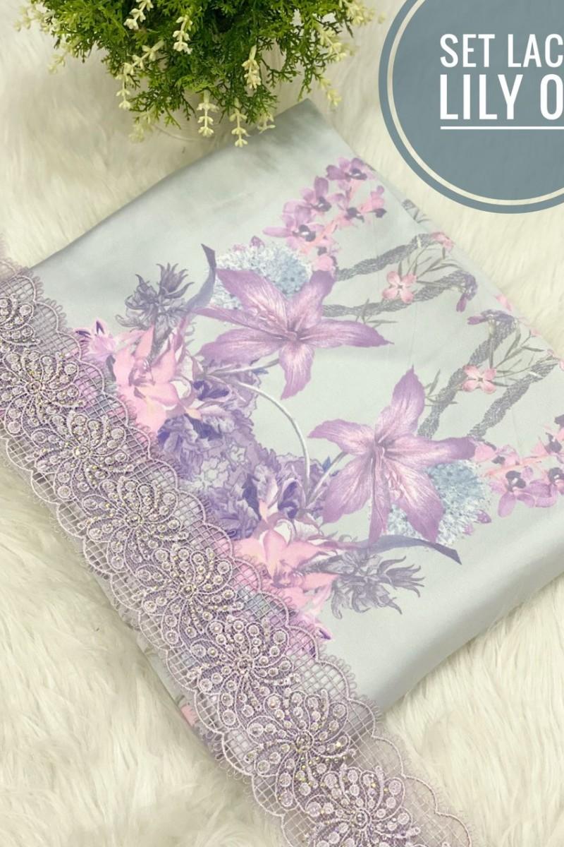 Set Lace Lily 01 (grey)